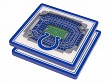 3D Stadium Coaster Set NFL Indianapolis Colts Lucas Oil Stadium