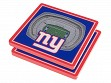 3D Stadium Coaster Set NFL New York Giants MetLife Stadium