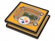 3D Stadium Coaster Set NFL Pittsburgh Steelers Heinz Field