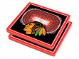 3D Stadium Coaster Set NHL Chicago Blackhawks United Center