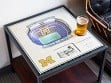 25-Layer Stadium Lighted End Table