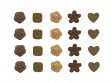 Pressed Spiced Tea Leaves - Assortment of 25