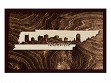 Framed Cityscape State Art - Tennessee - Nashville - Large