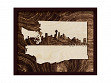 Framed Cityscape State Art - Washington - Seattle - Large