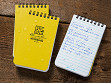 All-Weather Top Spiral Notebooks - Set of 3