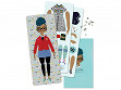 Handcrafted Paper Doll Kit - Rosemarie