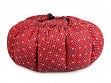 Large Portable Insulated Slow Cooker - Batik Red