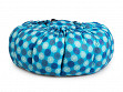 Large Portable Insulated Slow Cooker - Batik Blue