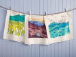 Hawaiian Flour Sack Tea Towel
