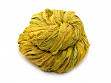 Upcycled Sari Silk Ribbon Yarn - Lemongrass