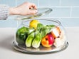 Glass Tabletop Produce Saver