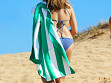 Quick-Drying XL Microfiber Beach Towel