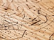 Engraved Wood Constellation Map