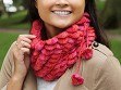 Handcrafted Scalloped Neck Warmer & Hat