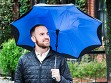 Reverse Open Drip-Proof Umbrella