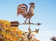 100% Copper Large Rooftop Weathervane