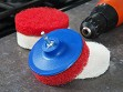 Scrubbing Pads For Drill - Set of 4