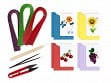 Beginner Paper Quilling Notecard Kit - Fruit & Floral