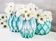 Paper Vase Wraps - Set of 3