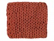Chunky Cable Knit Throw - Sienna