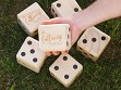 Personalized Giant Wooden Yard Dice