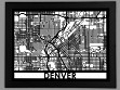 Laser Cut Maps - Denver