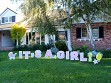 Statement Yard Sign - It's A Girl