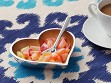 Heart Shaped Dish with Spoon