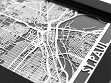 Stainless Steel City Maps (5 x 7) - St. Paul