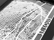 Stainless Steel City Maps (5 x 7) - St. Louis