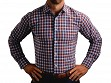 The Hunwick Triple Gingham Men's Performance Dress Shirt - Small