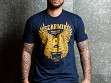 Men's Live To Inspire T-Shirt - Navy Blue - Small