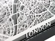 Stainless Steel City Maps (5 x 7) - London