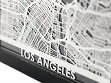 Stainless Steel City Maps (5 x 7) - Los Angeles