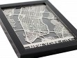 Stainless Steel City Maps (5 x 7) - New York City