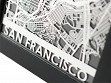 Stainless Steel City Maps (5 x 7) - San Francisco