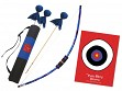 Kid-Friendly Archery Set with Quiver Bag - Blue Tie Dye