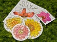 5 Pack Flower Arranger with Gems