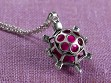 Turtle Angel Locket
